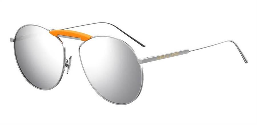 GENTLE FENDI N.02太陽眼鏡,1萬3920元。(FENDI提供)