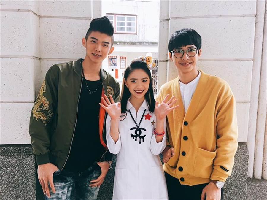 左起:于成炘、吳欣芸、廖偉博。(圖/翻攝自于成炘臉書)