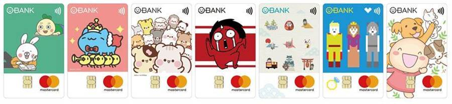 (LINE WEBTOON攜手王道銀行首度跨界推出「漫畫家系列卡」圖:業者提供)