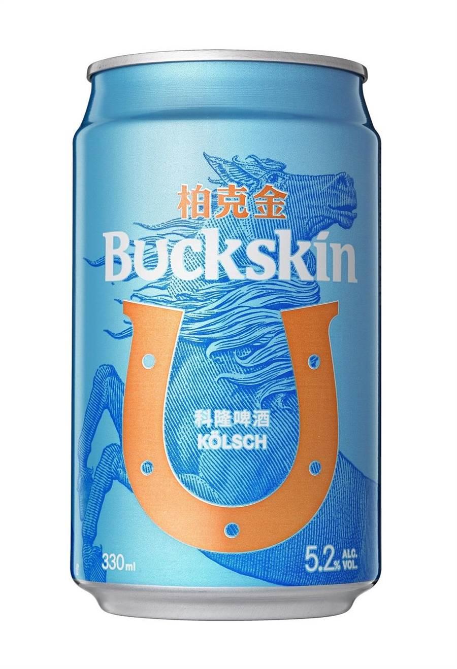 全聯獨家「BUCKSKIN柏克金-科隆啤酒」330ml x 6入,源自於德國科隆地區傳統啤酒,採頂層發酵低溫熟成,23日前原價259元、特價209元。(全聯提供)
