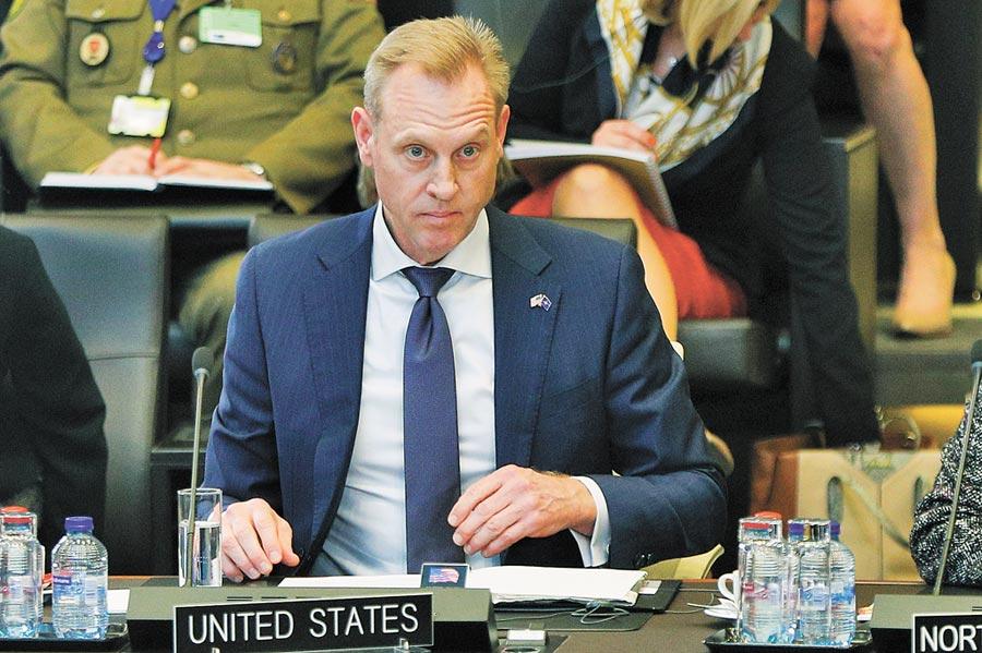 美國國防部代理部長夏納翰。(新華社資料照片)