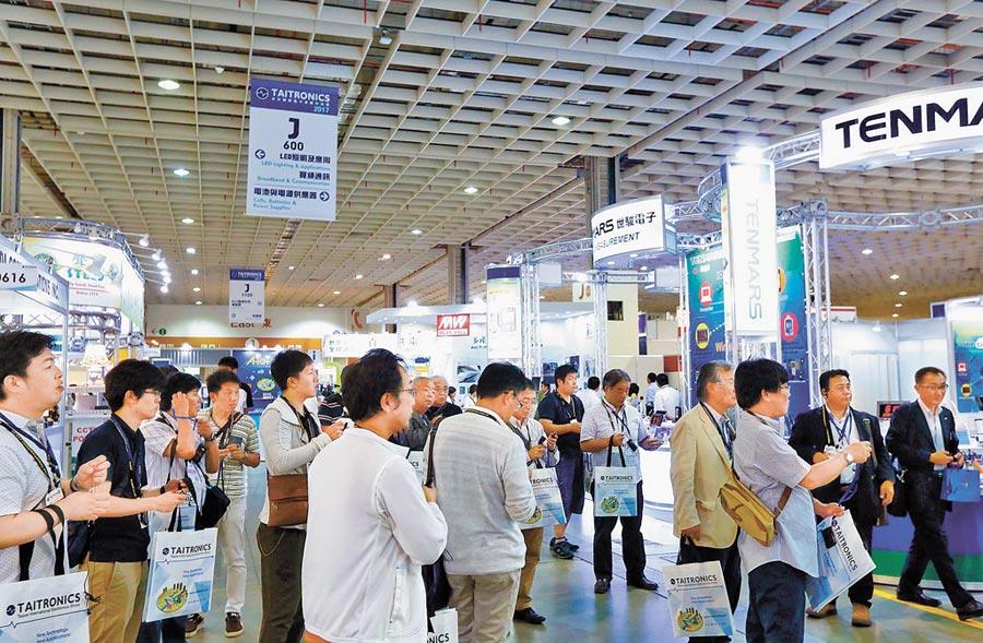 台商宜加速異地布局減少貿戰風險。圖為台北國際電子產業科技展。(外貿協會提供)