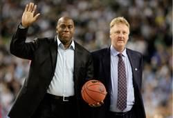NBA》魔術強森與大鳥博德獲終身成就獎