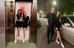 驚世夫妻甜互動!12歲愛女神複製洪曉蕾「腿和媽媽一樣長」