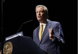 民主黨大亂鬥  紐約市長白思豪宣布投入總統初選