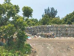垃圾堆滿地 竹議員促建焚化爐