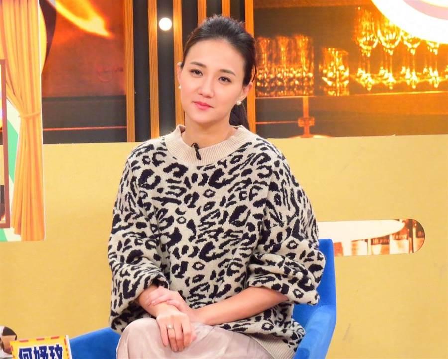何妤玟日前上衛視中文台《請問你是哪裡人》錄影。