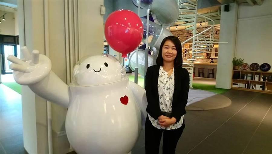 總太地產董事長翁毓羚表示,總太2019年在台中市北屯區大十期將推出兩個續案,總銷約88億元。(圖:曾麗芳)