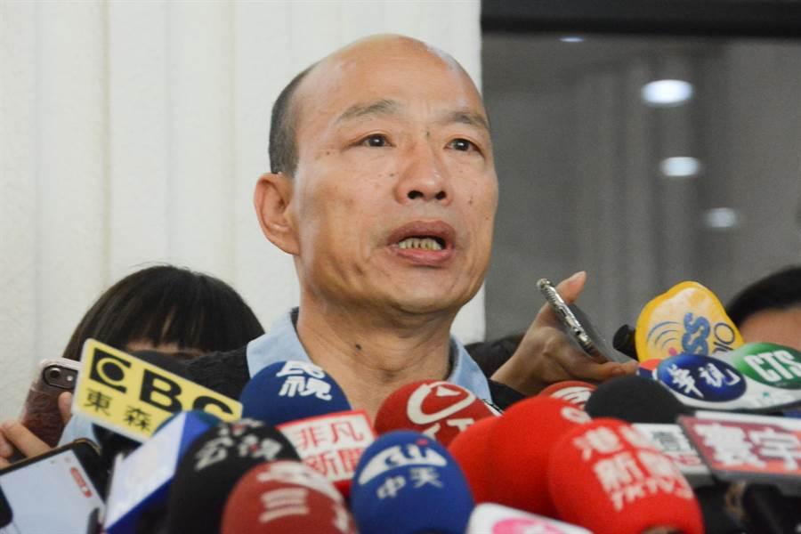 高雄市長韓國瑜。(林宏聰攝影)