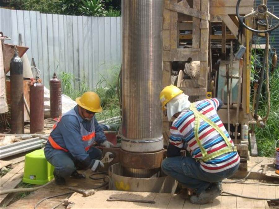 台水公司增設神岡3號備援井,提供備援水源,減低清水高地用戶停水風險。(王文吉翻攝)