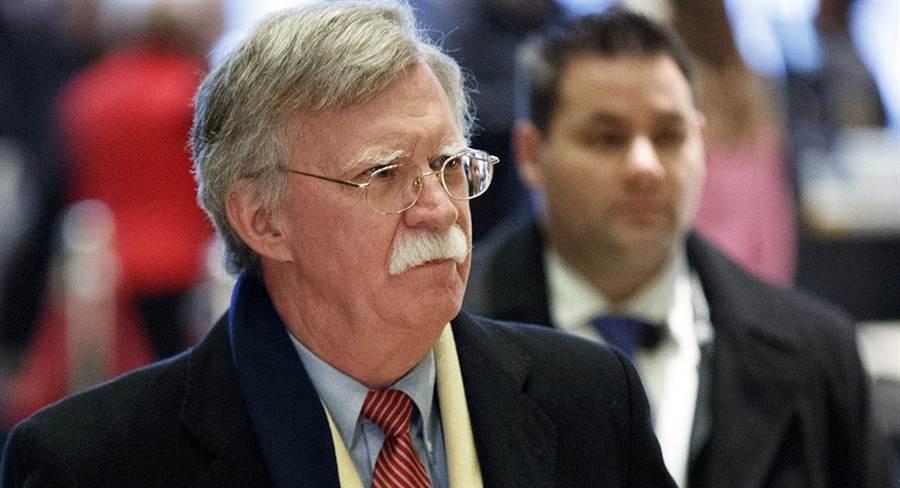 白宮國家安全顧問波頓(John Bolton)。(圖/美聯社)