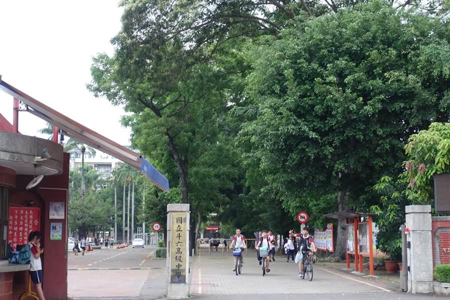 斗六高中這兩天有35名學生嘔吐腹瀉發燒,可能是類流感、腸病毒感染,17日將進行全面消毒,以因應18、19日將作為國中教育會考場。(周麗蘭攝)