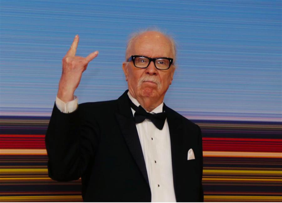 恐怖片導演約翰卡本特獲頒「金馬車獎」。(翻攝自網路)