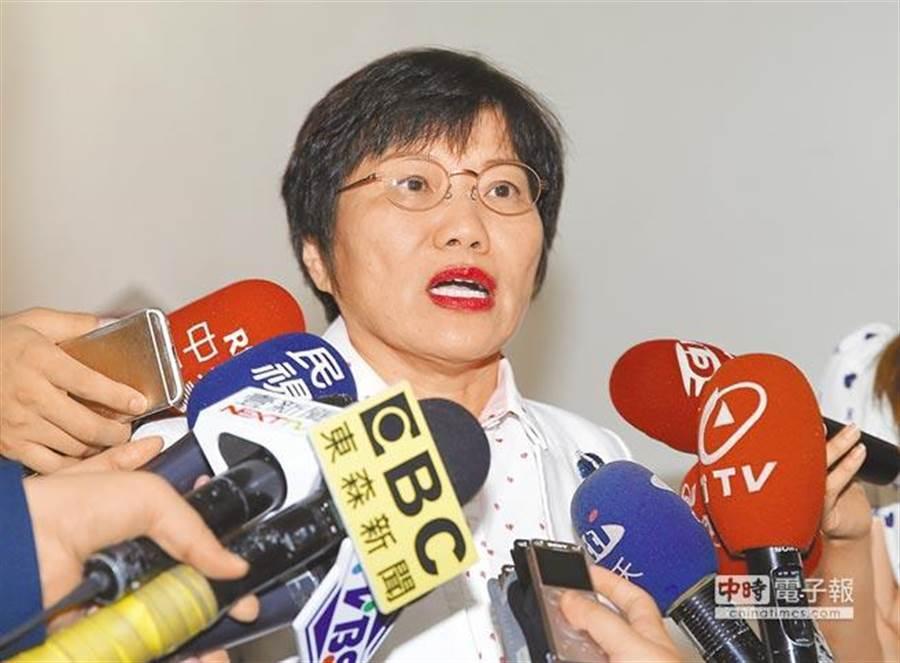 民進黨立委劉世芳。(資料照片,姚志平攝)