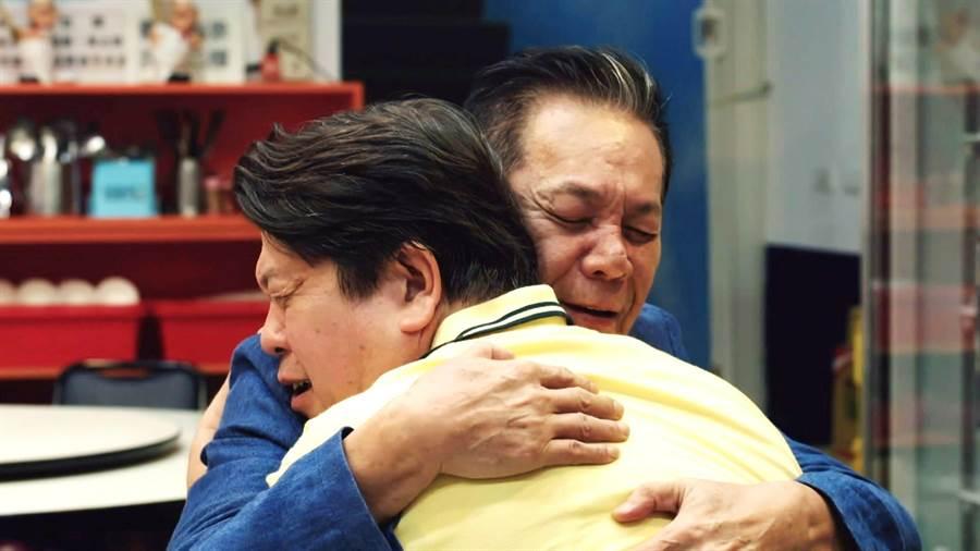 龍劭華、羅北安飾演數十年好友。(三立)