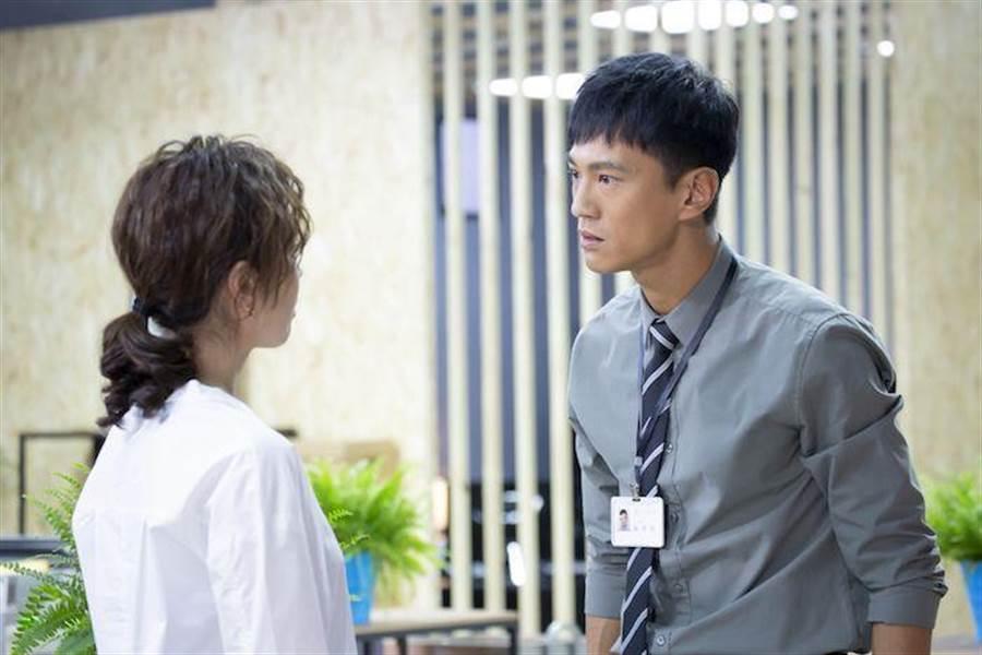 鍾承翰飾演的陳博昀熱血正義,與天心飾演的方箏有不少對手戲。