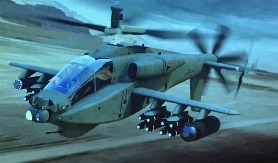 「高速阿帕契」 ,應用了許多高速直升機的科技,但還需驗證。(圖/Graham Warwick)