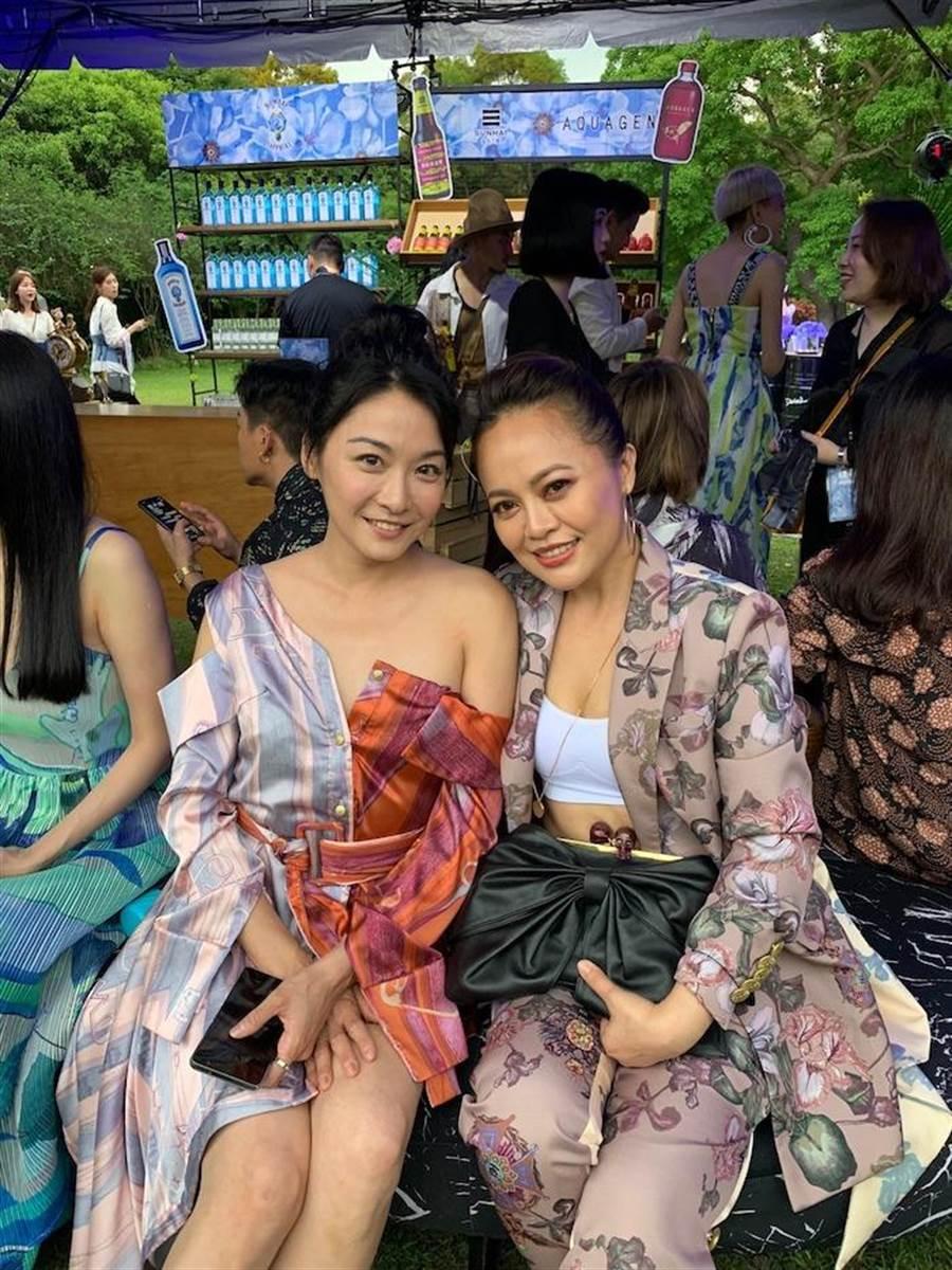 江祖平(左)與戴愛玲。