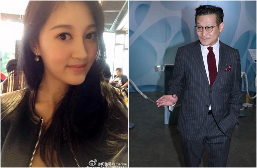 何豔娟月初證實離婚後,火速和700億富豪陳燿璋傳出緋聞。(圖/翻攝自微博、東網)