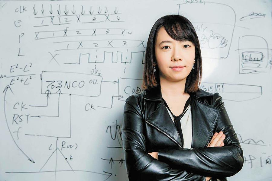 徐穎是中科院光電研究院最年輕的研究員。(取自微博@科普天津)