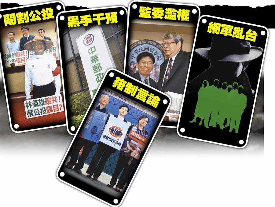 國家瀕失序 民進黨鞏固政權 不擇手段