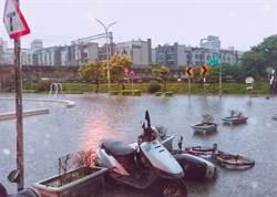 雨炸彈狂襲新竹!網首次收到警訊驚呆