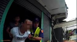 毒蟲通緝犯遇「警界飛毛腿」 百米被逮