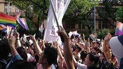 同婚專法三讀  挺同者:婚姻平權亞洲第一