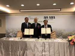 航空城公司與亞洲航空簽MOU 建置棚廠
