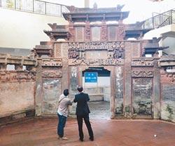 明清古門樓 藏身南昌現代建築