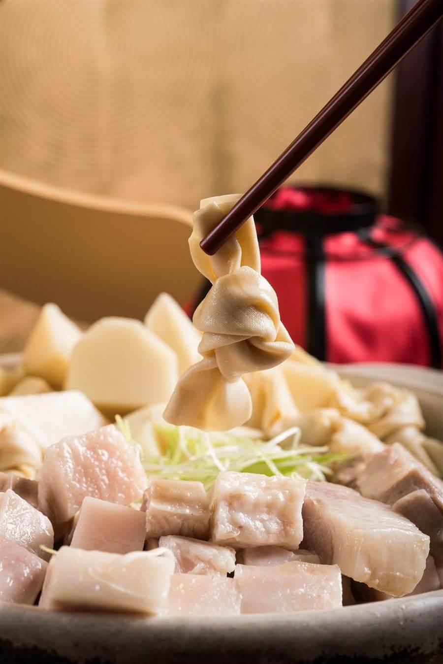 「上海醃篤鮮」有多種吃法,可輕鬆變身煲湯、火鍋、湯麵料理。(圖/六福旅遊集團)