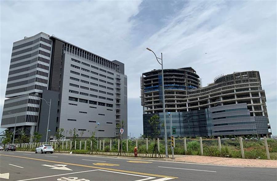 中華郵政物流園區進駐,將帶來大量就業人潮。(圖/易繼中 攝)