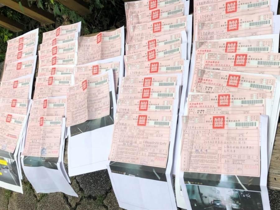 紅單像搶錢?議員提出質詢,彰化縣警局表示取締件數沒有增加。(吳敏菁攝)