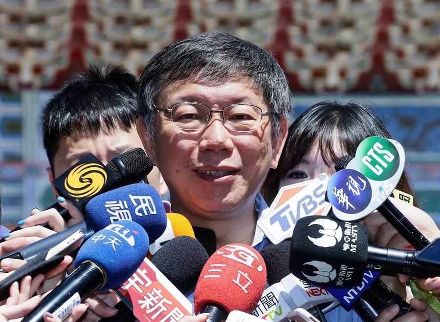 台北市長柯文哲。(本報系資料照)