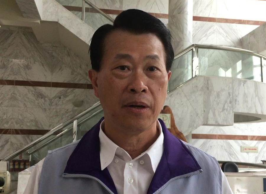 嘉義市警察局長林水順表示要展開調查釐清事情原委。(廖素慧攝)