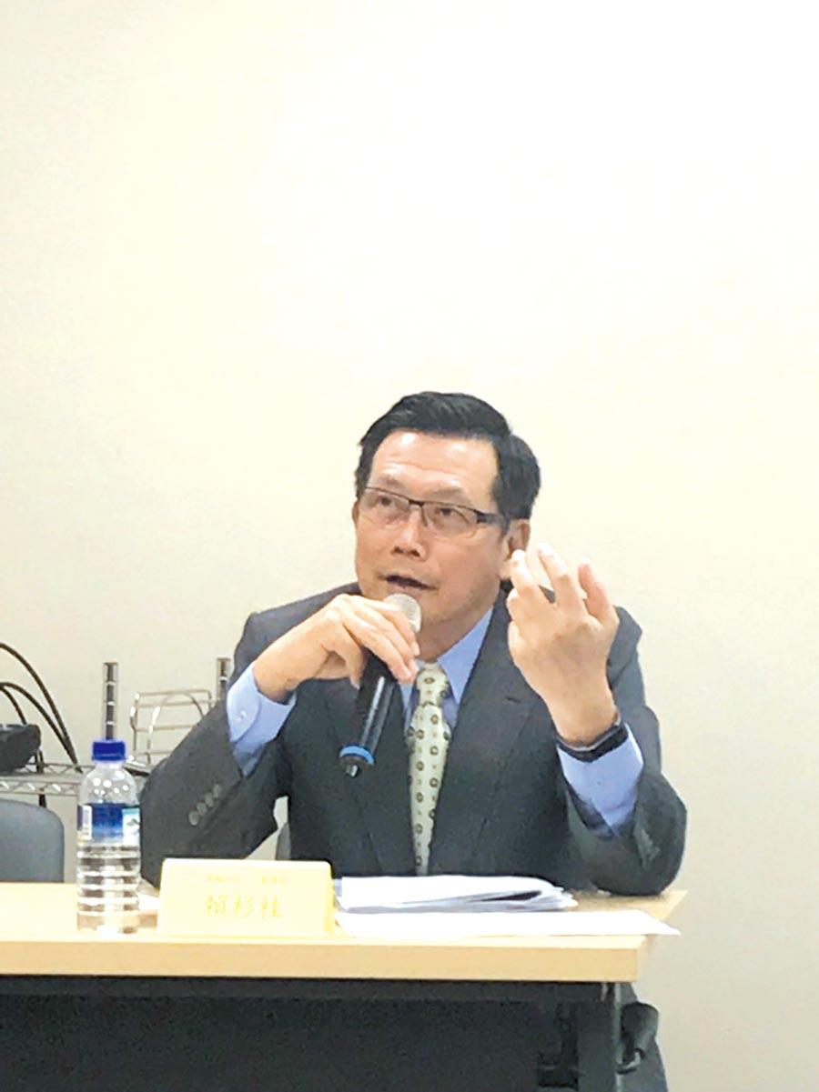 崇越科技董事長賴杉桂。圖/廖育偲