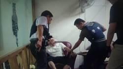 男開槍傷人後落跑 養生館「鬆一下」遭逮