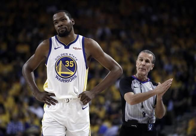 NBA》沒KD勇士更難防?杜蘭特嗆柯瑞弟