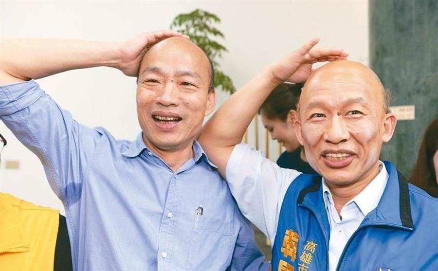高雄市長韓國瑜(左)。(圖/本報系資料照)