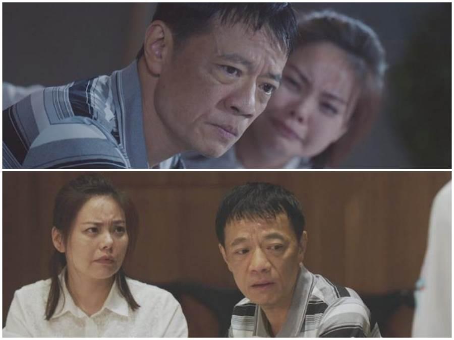 吳朋奉、林嘉俐(左、中)詮釋夫妻,右為飾器捐協調師劉倩妏。