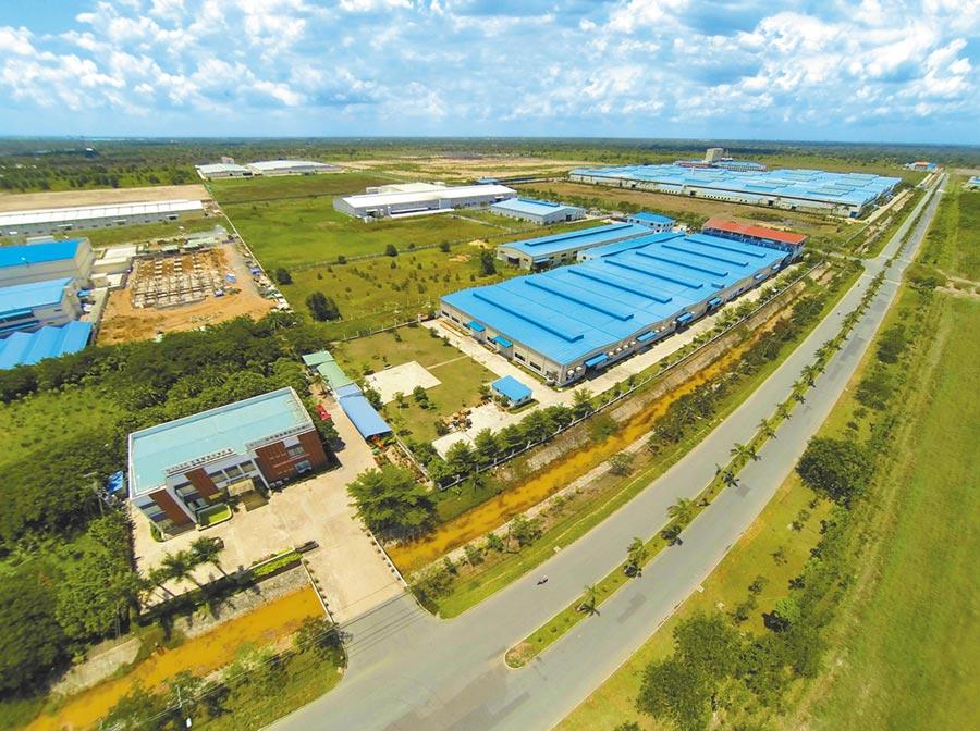 胡志明市龍江工業園區是大陸八大國家級境外經貿合作區之一。(新華社資料照片)
