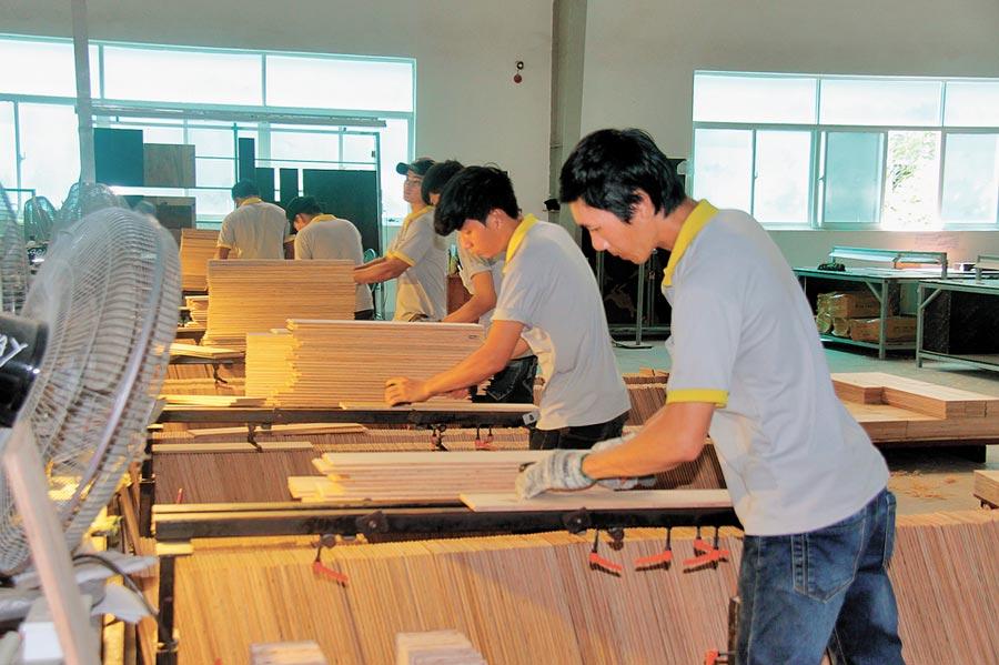越南西寧省,工人在由中越合資成立的鈴中工業園區內工作。(新華社資料照片)