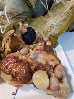 雙漁堂滿漢干貝粽 山珍海味同一粽