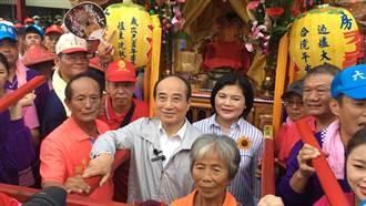 雲林六房媽過爐 王金平祈求順利當選總統