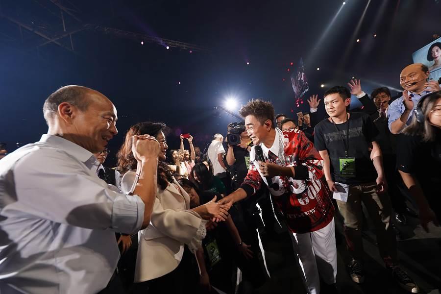 韩国瑜现身合唱!吴宗宪感动「朋友是永远的」 - 中时电子报 Chinatimes.com -20190519002263