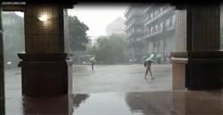 雨狂炸 文大生:比颱風還恐怖