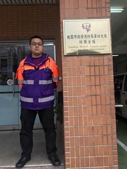 鬼門關前搶人 消防員獲模範公務員