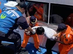 陸籍船員海上急性盲腸炎 海巡惡浪神救援