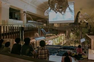 新二代夜宿台博館!侏羅紀恐龍伴入眠