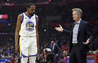NBA》名嘴再爆討厭科爾 KD回嗆狗屎
